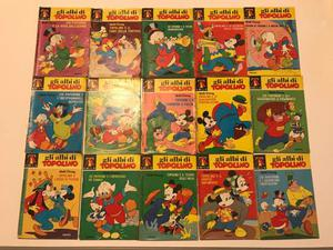 15 numeri de Gli Albi di Topolino Walt Disney Mondadori