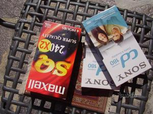 4 Video cassette (VHS) nuove