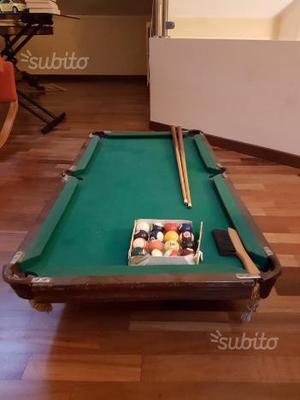 Biliardino da tavolo tiger posot class - Mini biliardo da tavolo ...