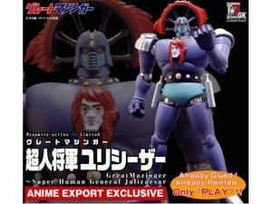 Evolution Toy Juliecaesar Great Mazinger Dynamite Action LTD