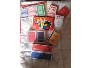Mazzi di carte da gioco varie