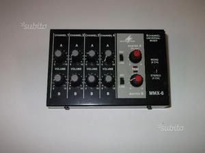 Mixer mmx-8 canali mono - 4 canali stereo
