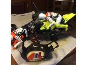 Modellino moto a motore a scoppio nuova