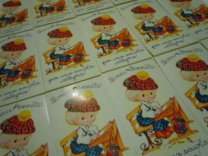 ADESIVI anni 80 BONNIE BONNETS cartoleria collezione