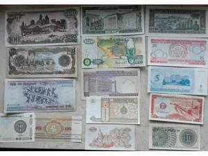 Banconote dal mondo