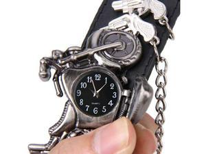 Bracciale/orologio in pelle