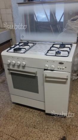 Cucina a gas con forno elettrico zoppas posot class - Cucina con forno a gas ...