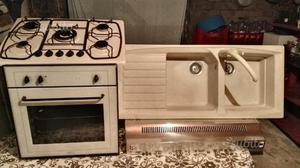 Cucina incasso forno piano cottura lavandino cappa posot class - Lavandino incasso cucina ...