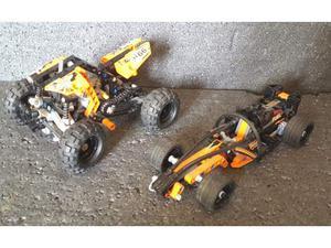 Lego technic  moto quad buggy + lego  back action