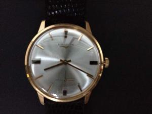 Longines orologio da polso, cassa in oro 18K.