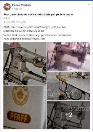 Cerco macchina cucire cuoio a braccio posot class for Cerco mobile in regalo