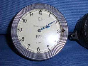 Orologio degli anni '30 Fiat - Metron x auto