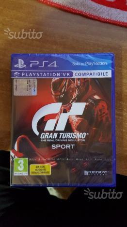 PS4 GT Gran Turismo Sport VR SIGILLATO ITALIANO
