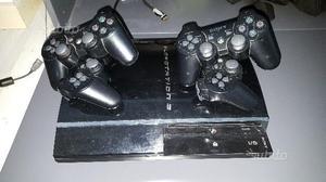 Play station 3 con 4 joystick e 20 giochi