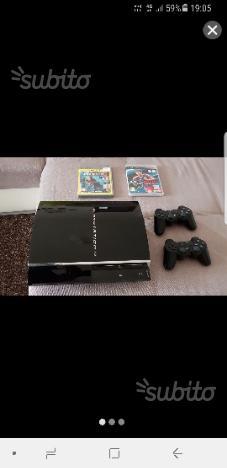 Playstation 3 più 2 Controller e 2 Giochi
