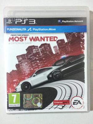 Ps3 gioco need for speed most e antes