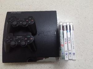 Psgb con 2 joystick 4 giochi originali
