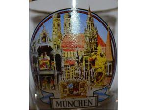 Shot in vetro souvenir Munchen (Monaco di Baviera)