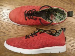 VANS scarpe rosse tg.42