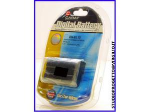 Batteria compatibile nikon en-el-15