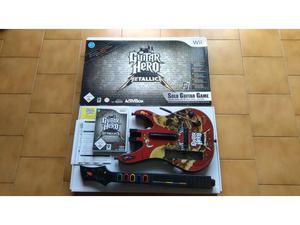 Guitar Hero Metallica Wii + Chitarra + scatola originale