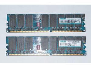 Kit ram DDR1 1Gb x2 2Gb 400mhz PC