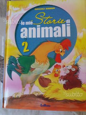 """Libro di """" le mie storie di animali 2"""""""
