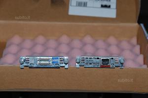 Lotto materiale Cisco Systems (router, wic, cavi)