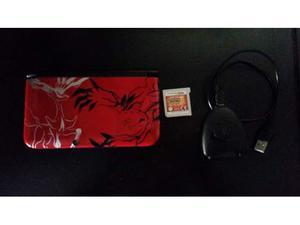 Nintendo 3DS XL + Pokemon Sole + PowerSaves