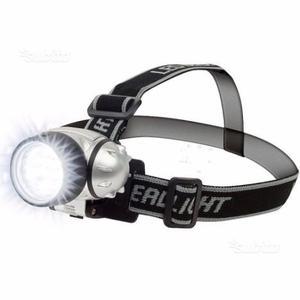 Torcia lampada frontale headlight a 5 led x caccia