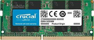 Crucial CT4G4SFS824A Memoria da 4 GB