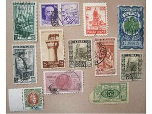 Lotto francobolli regno, colonie, repubblica