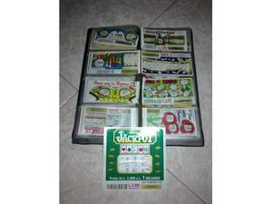 Lotto gratta e vinci da collezione stock in lire