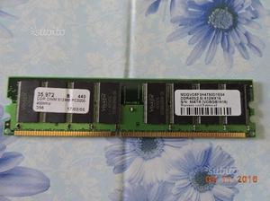 Memoria RAM DDR MB