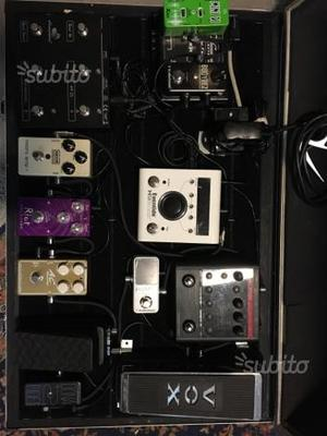 Pedaliera Tc Electronic Suhr Xotic Vox MXR