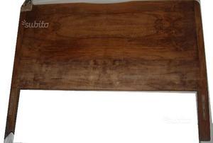 Spalliera e pediera in legno anni 50