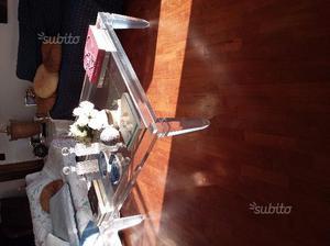Tavolino da soggiorno in perpex