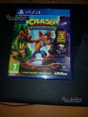 3 giochi Crash Bandicoot - NUOV.O PS4