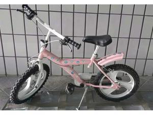 Bicicletta bambina 4 /7 anni + casco