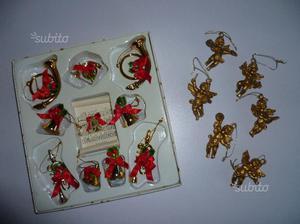 Albero di Natale addobbi 16 pezzi vintage