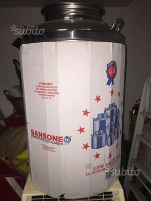BIDONE OLIO SANSONE 50lt