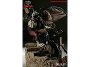 Blade vs dracula-diorama exclusive sideshow-n.