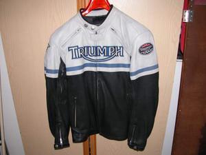 Giuobotti in pelle per moto Triumph