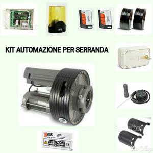 Kit Automazioni per serrande fino a 180kg di peso