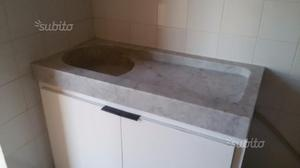 Lavandino marmo bianco di Carrara