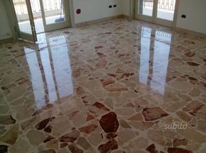 Lucidatura Pavimenti in Marmo e Pulizia Ceramiche