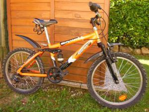 Mountain bike ragazzo colore arancio