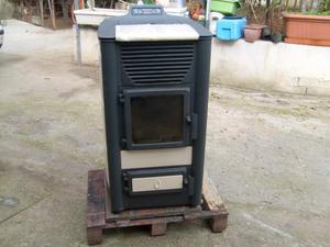 Stufa policombustibile pellet e nocciolino pasian posot for Caldaia biomassa usata
