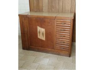 Graziosa credenza, armadietto in legno originale anni 60
