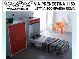 Letti a Scomparsa _ Letto Singolo VE181 Materasso Omaggio